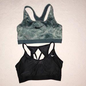 2 Nike Pro Swift Sports Bras Medium